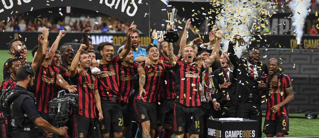 Atlanta United crowned Campeones Cup champions!